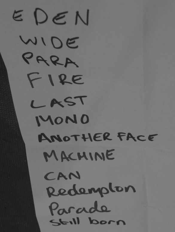 Setlist Hammer of Doom XI - ANTIMATTER